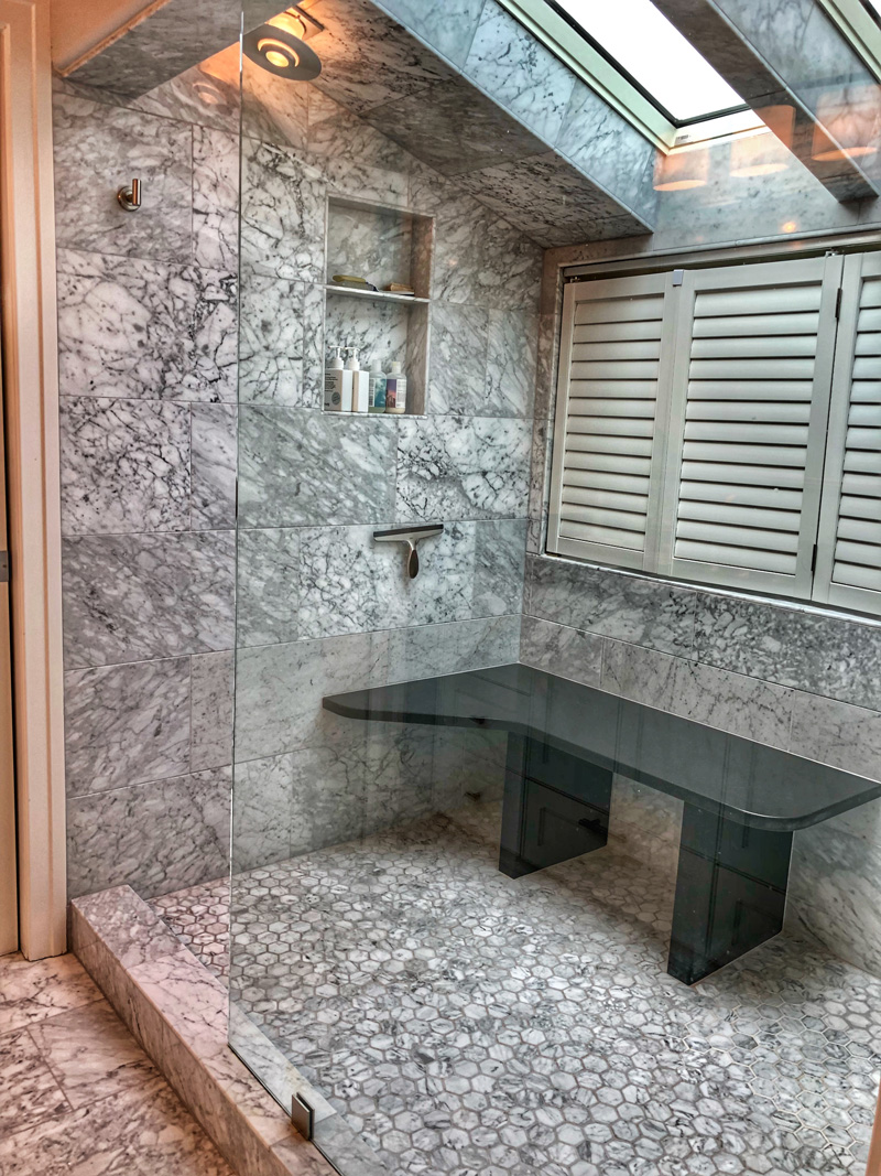 tile-shower-with-skylights